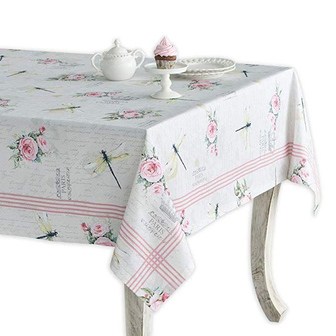 Maison D Hermine Champ De Mars 100 Cotton Tablecloth 60 Inch By 90 Inch Review Table Cloth Kitchen Linens Tea Party Garden