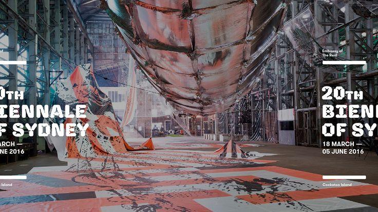 20th Biennale of Sydney on Behance