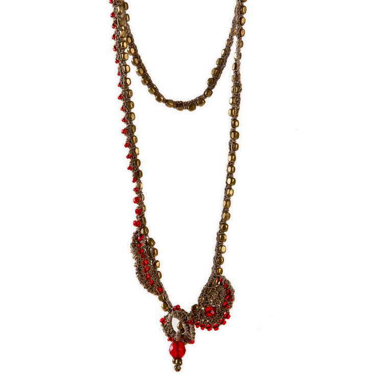 Handmade Necklace by www.ileniadesign.com