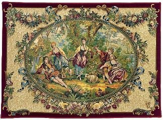Tapestry hanging in Para's home? | authentic medieval tapestry | Tapestries, The History of Tapestry Weaving