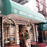 Bleecker Street: Rocco's Pastry Shop & Espresso Cafe 243 Bleeker Street West Village NYC