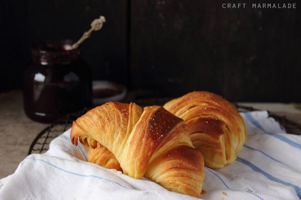 craft marmalade: I cornetti sfogliati, quelli del bar!