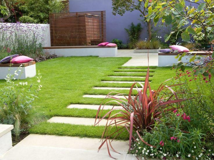 130 besten reihenhausgarten Bilder auf Pinterest Gärtnern - reihenhausgarten vorher nachher