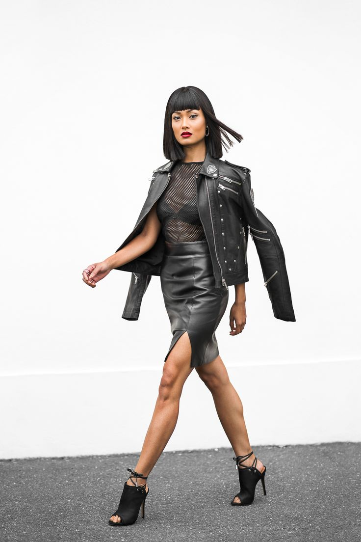 mesh-top-with-leather-jacket-and-skirt