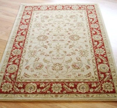 Zeigler 7709 Cream Red Rugs Online At Modern Uk