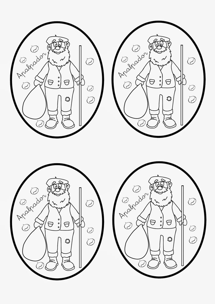 Hoy comparto con vosotr@s un material que elaboré para mis alumn@s de Educación Infantil sobre la figura del Apalpador / Pandigueiro . Pr...