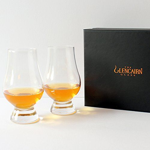 Glencairn Whisky Glass Set of 4 - Savor whisky in glasses fit for royalty. After winning the 2006 Queen's Award for Innovation the Glencairn whisky glass has earned its place on the bar. Considered the 'official whisky glass' by the experts Glencairn offers aficionados of Scotch whisky a special vessel to appreciate its nuances. ...