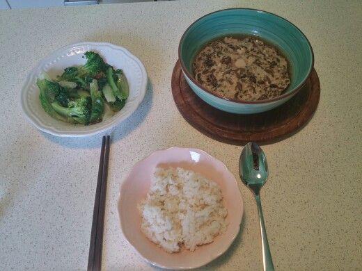梅干菜+炒青菜
