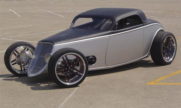 1933 FORD CUSTOM 3 WINDOW COUPE SPEEDSTAR - Barrett-Jackson Auction Company