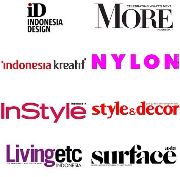 Thank you to all Media Partners for the generous partnership also who contributed resources to support our program #APSDA2014 @indonesiadsign @MoreMag @idkreatif @InStyleIND @LivingetcID @NYLON_IND @StyleandDecorID @SurfaceAsiaMag