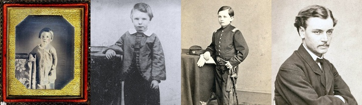 """Lincoln's four sons: Edward Baker """"Eddie""""-William Wallace """"Willie""""- Thomas """"Tad""""- and Robert Todd"""