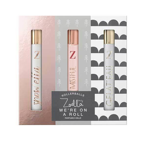 Zoella Snowella We re On A Roll Perfume Rollerball Trio Set
