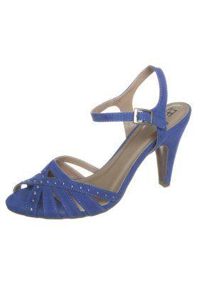 Sandaler med høye hæler - blå