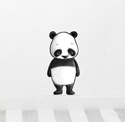 Ping the panda  Removable nursery wall stickers  www.peppapenny.com  Shop 3, 1642 Anzac Ave  North Lakes, QLD 4509