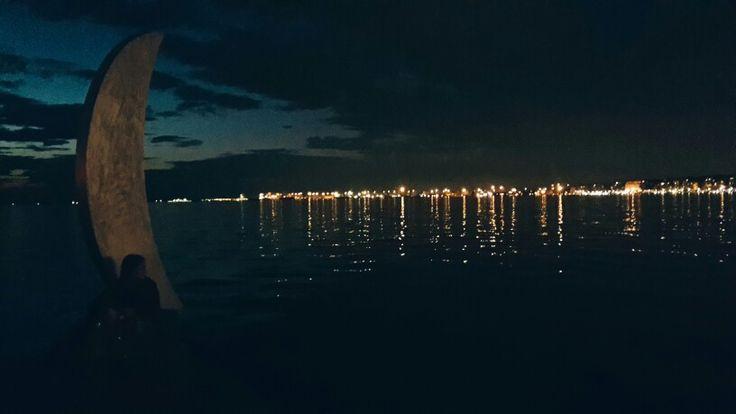 Moonlit #Thessaloniki    #ridieassapori #experienceblog #mythessaloniki #instagreece