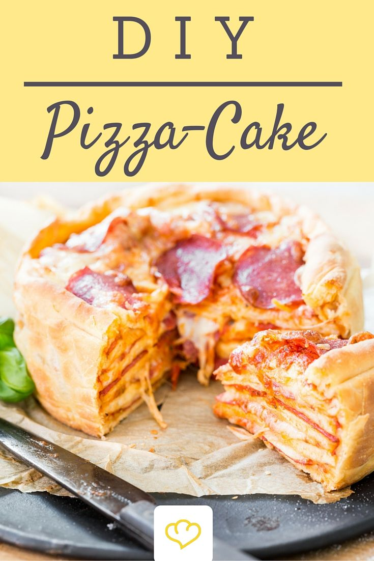 best 25 pizza cake ideas on pinterest pizza recipes. Black Bedroom Furniture Sets. Home Design Ideas