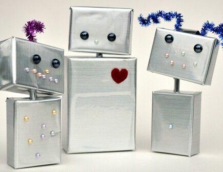 16 robots que puedes hacer en casa con tus hijos - Quo