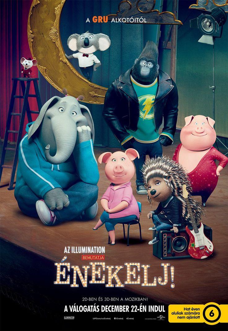 Sing (International Movie Poster)