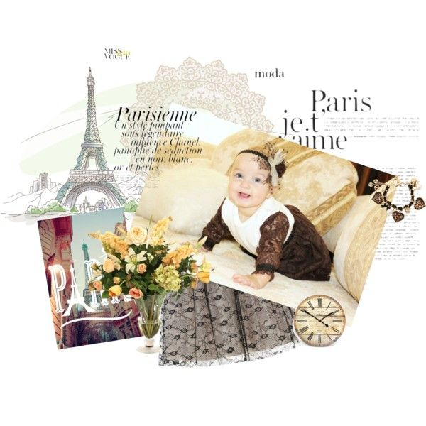 """Paris mood babies"" by baby-96ru on Polyvore"