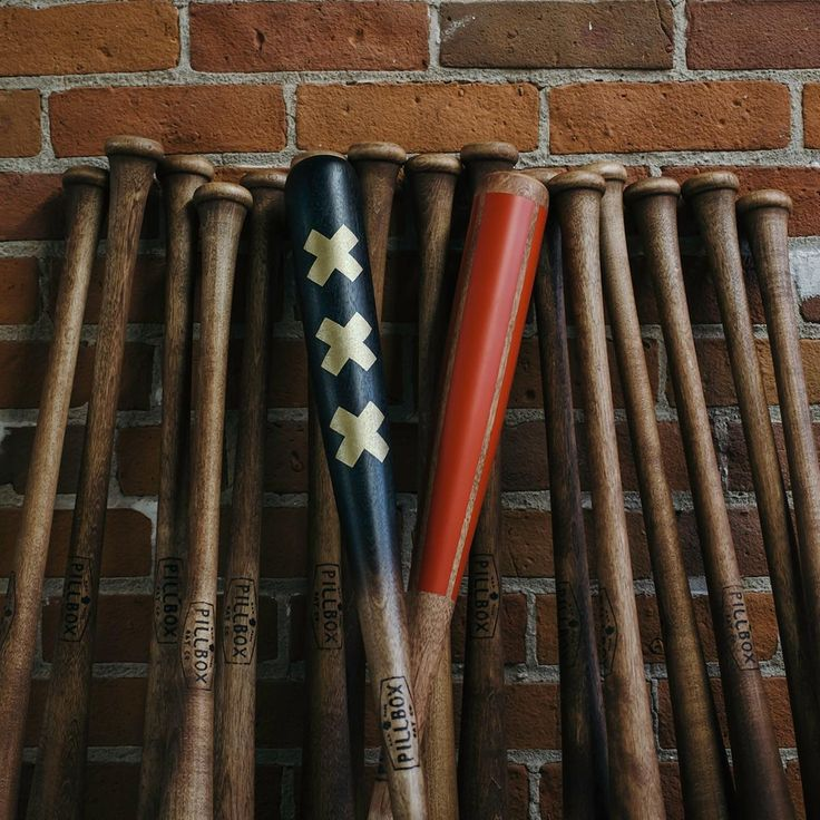 Pillbox Bat Co. is reshaping the little league dream into major league realities. The team crafts vintage-inspired wooden bats that will add big-time style to any wall...or pick-up game. Each Pillbox baseball bat is crafted in the USA and hand-painted in Winona, Minnesota. Game ready and cut from the same stuff the pros use (solid maple y'all), this bat is 34 inches long and emblazoned with the Pillbox Bat Co. mark just above the grip. Hang it on the wall or lather up the pine tar and put…