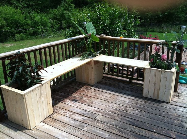 Planter Bench Planter Bench Planters And Backyard