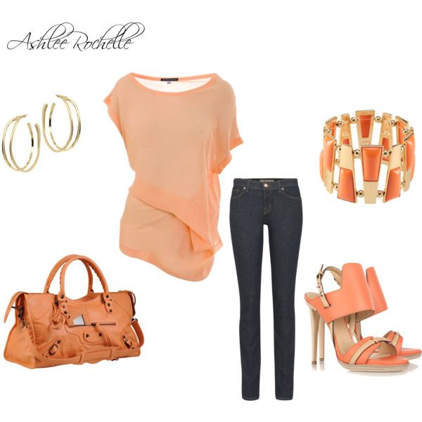 Apricot, created by ashlee470 on Polyvore