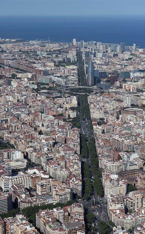 Barcelona. Fotografía aérea