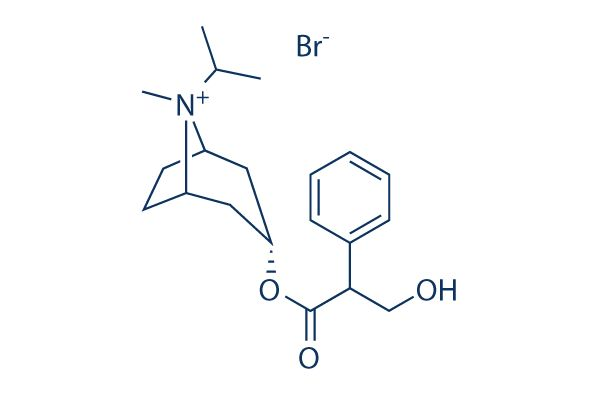 Chemical Structure of Ipratropium Bromide, CAS No.: 22254-24-6