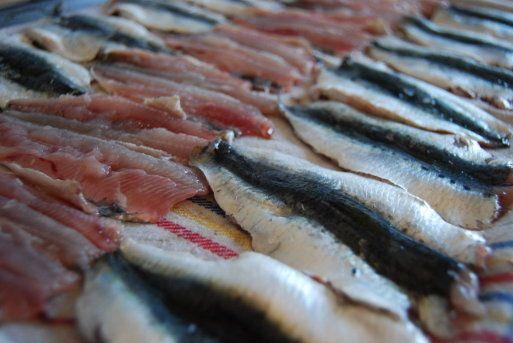Cómo marinar unas sardinas