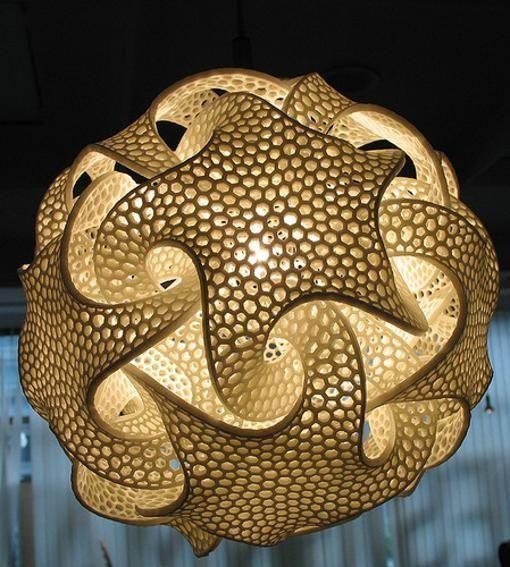 starfish lamp 3D printed #3dPrinteresting  #3dPrinting