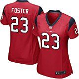 23# Womens Foster Texans Houston Game Jersey Small