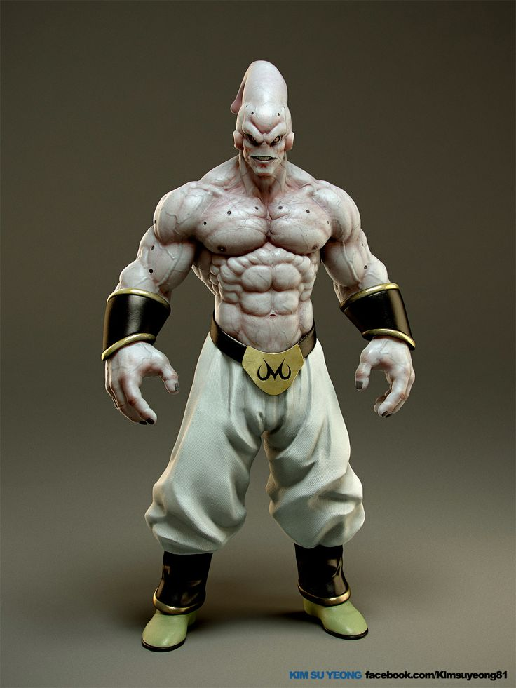 https://www.facebook.com/Kimsuyeong81 http://kimsuyeong81.deviantart.com/  This character is Majin Buu.  I would like to make a superman who is evil, powerful, deft and intelligent.  ZBrush, 3ds Max, Vray, Photoshop