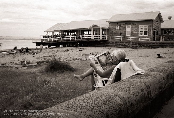 """The Life of Ryan"", Reading the Newspaper, Barwon Heads, 2001 by C Jones / 500px"