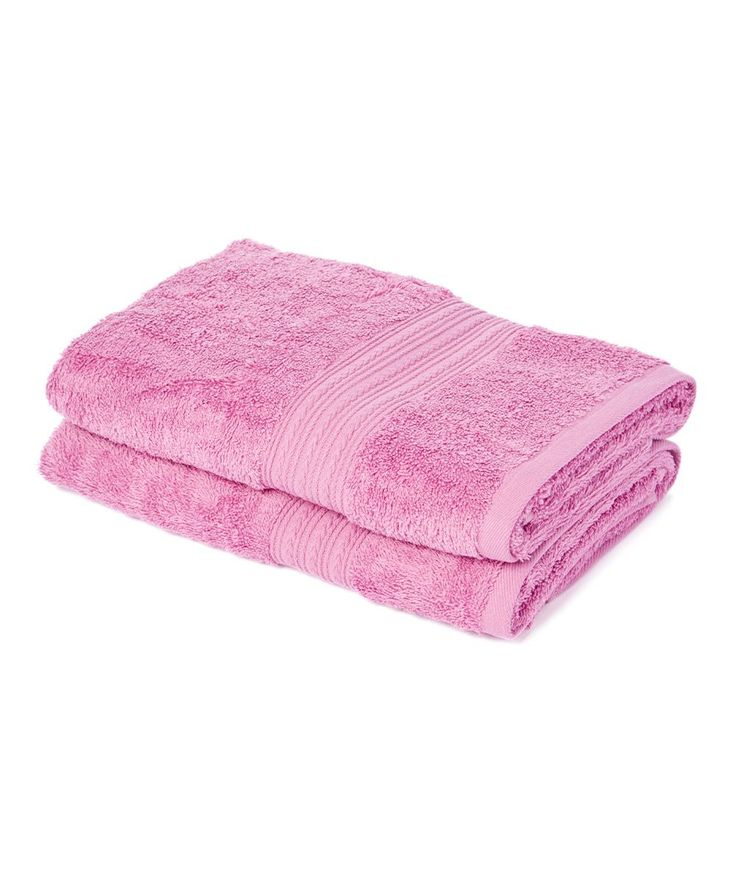 Mulberry Purple 35'' Hand Towel - Set of Two