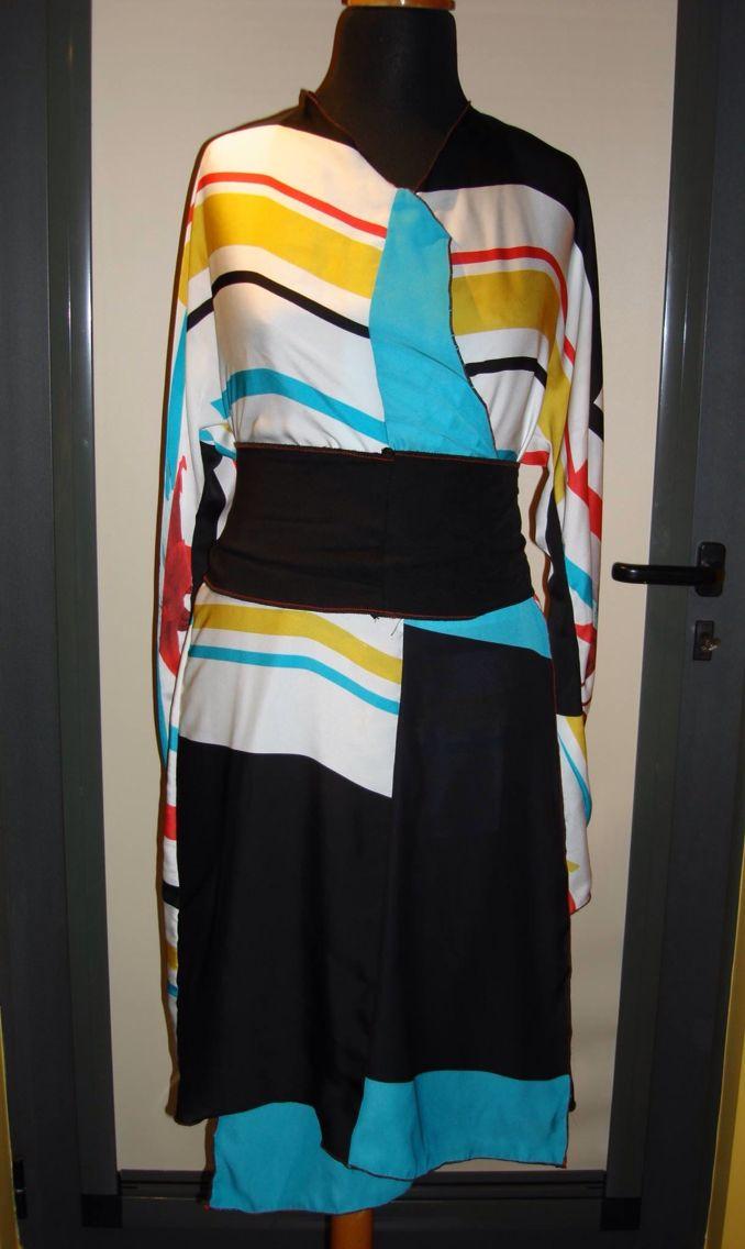 Kimono inspired front