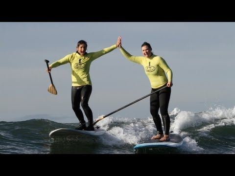 Stand Up Paddling on the Mornington Peninsula with PSUP.  Great way to get the heart rate up. http://www.tsic.com.au/pages/fitness-for-all
