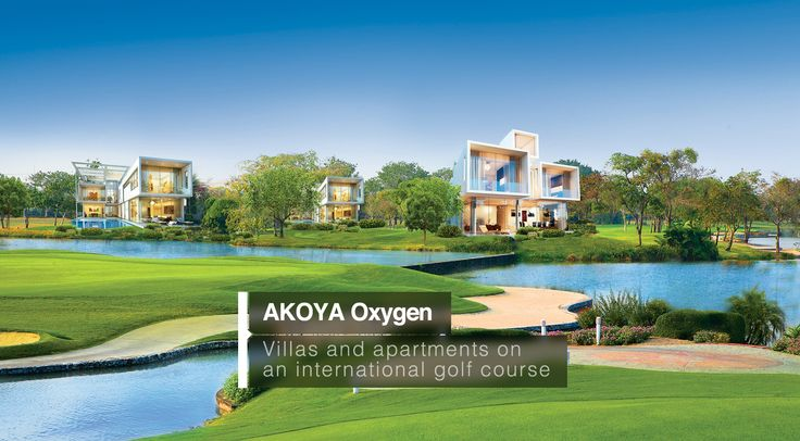 Dubai where luxury lives here every one find best living here akoya oxygen villas and apartment here with international  golf facing