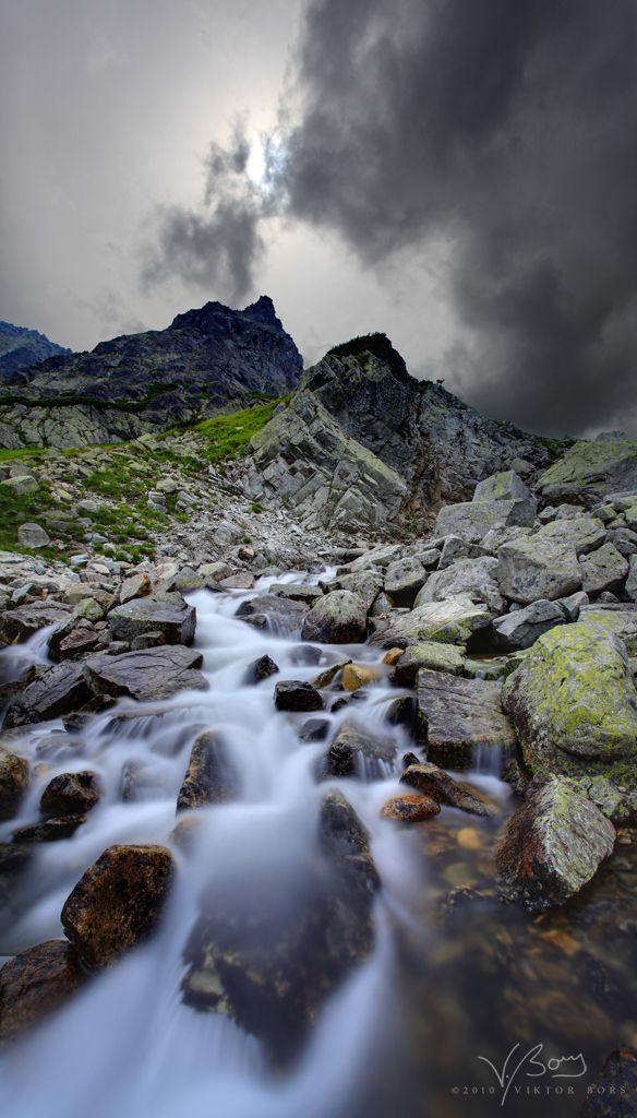 Veľká Studená Dolina (The Great Cold Valley), High Tatras, Slovakia