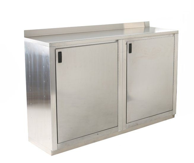24 Deep Long Polished Stainless Base Cabinets Car Guy Garage