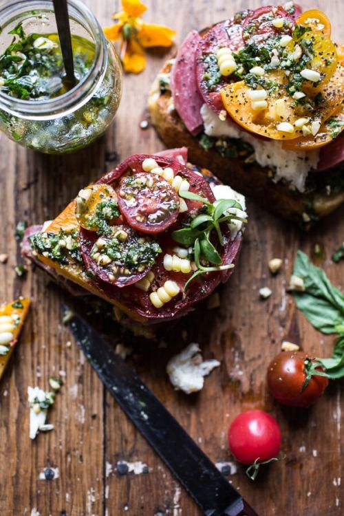 Image Via: Macadameia | love open faced sandwiches