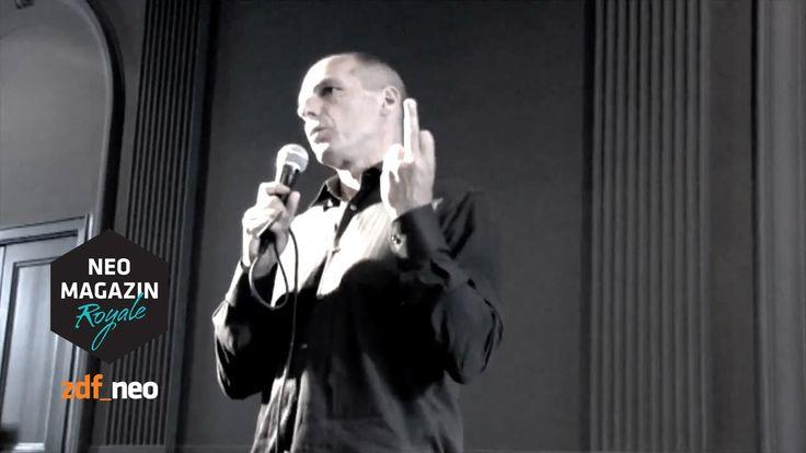 Varoufakis and the fake finger #varoufake | NEO MAGAZIN ROYALE mit Jan Böhmermann - ZDFneo - YouTube