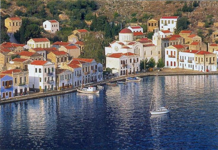 the Greek island of Meis or Kastellorizo right across from the Turkish town Kas | by Durukos Yachting