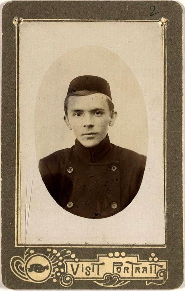 Tatars. Сагид Хамидуллович Сунчелеев – выпускник Казанской татарской учительской школы 1900г.