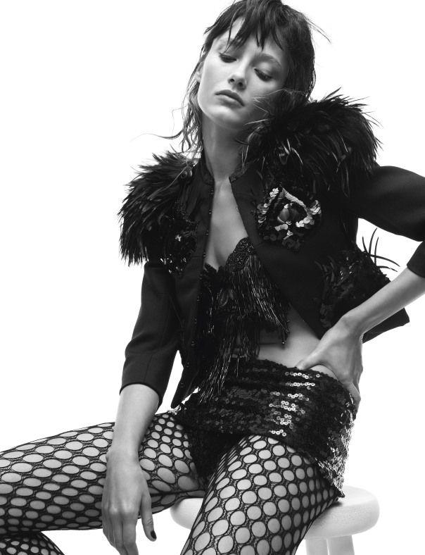 Fishnets & Feminism | Powerful Women Like Our Fishnets Thanks To Madonna, Beyonce, Angelina, Jennifer Lopez &Co - 2 Anne Enke's Sensual Rebel Blog - Anne of Carversville Women's News