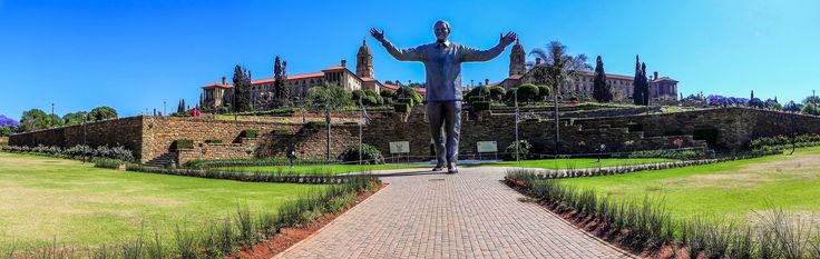 Panoramic HDR Nelson Mandela Statue, Pretoria Union Building
