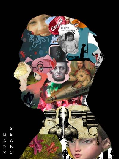 Fill Your Head: Digital Collage, Kris Fontes class