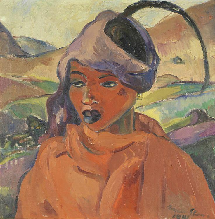Irma Stern - Young Xhosa woman
