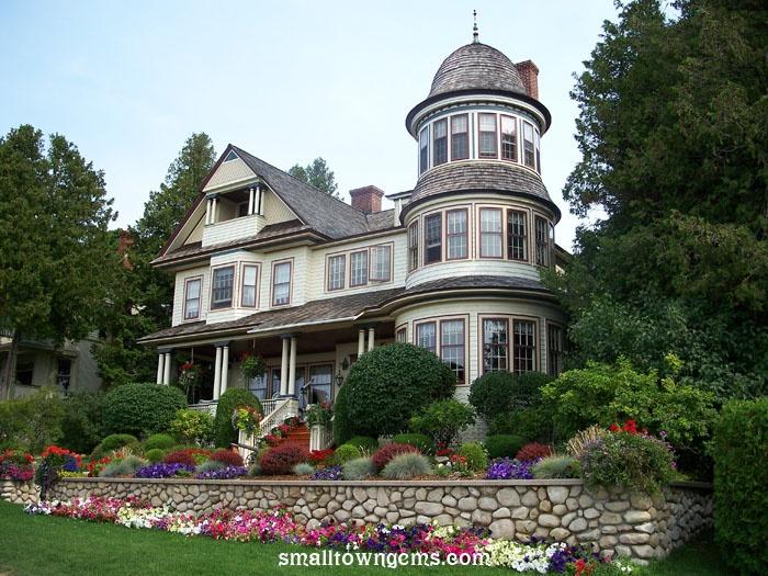 Mackinac Island Mi Victorian Homes Pinterest