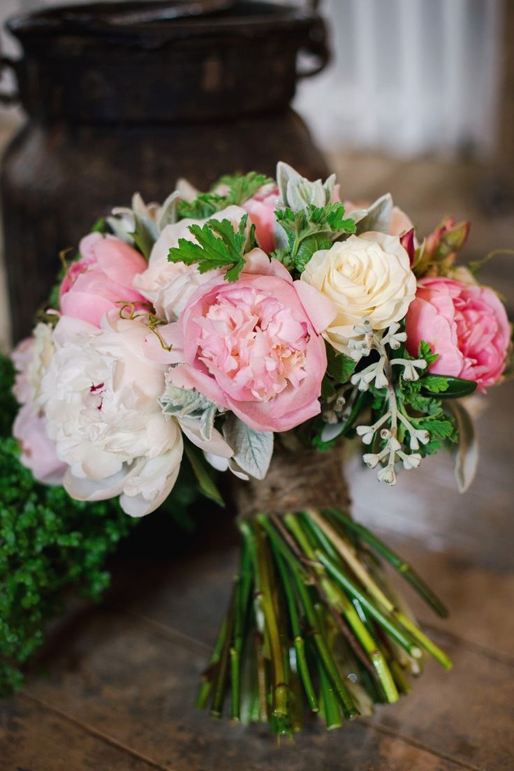 A Lush Rustic Wedding Full of Peonies & Sweet Country Love