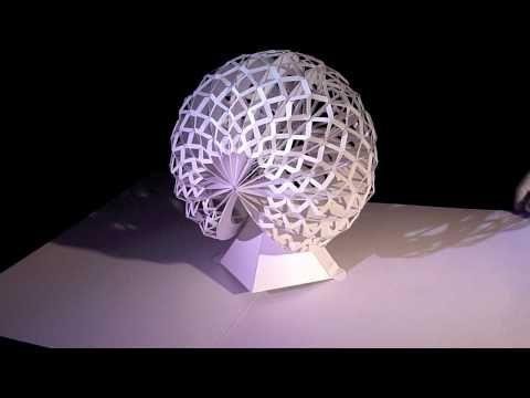 Pop-up Paper Sculpt, by Peter Dahmen